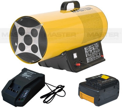 Master wireless 16kw LPG gas fan heater