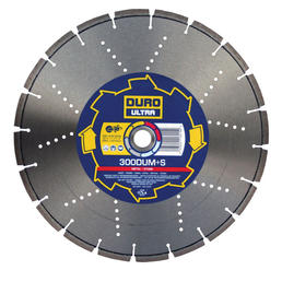 DURO DUMS Diamond Blade 300mm / 12in - Metal & Stone Blade - View Cutting Details