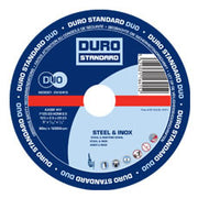 Metal Slitting Disc 115mm x 1.6mm - 4-1/2 inch - 25 Pack (DURO)