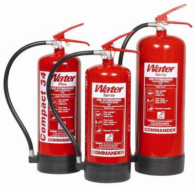 Water Fire Extinguisher 6 Litre WFE6 Commander