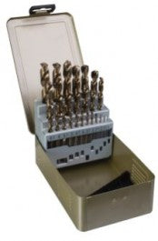 DART 25 Piece HSS Cobalt Twist Drill Set