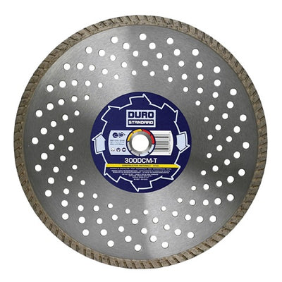 DURO DCM-T Diamond Cutting Blade 300mm Dia x 20mm Bore