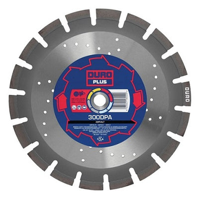 DURO Plus DPA Diamond Cutting Blade 300mm/25.4mm Bore - Asphalt