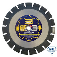 DURO ULTRA Construction Materials Blade 300mm Dia x 20.0mm Bore