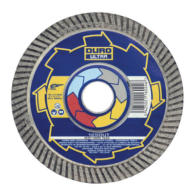 Duro Diamond Porcelain Tile Cutting Blade 180mm Dia x 25.4mm Bore
