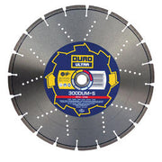DURO DUMS Diamond Blade 230mm / 9in - Metal & Stone Blade - View Cutting Details
