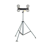 Halogen Mast Quad Floodlight 110v With Folding Tripod (Defender)