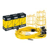 Defender Festoon Lighting BC 100m 110v