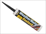 Weather Mate Sealant Black 295ml (EVERBUILD)