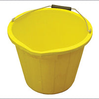 3 Gallon 14 litre Bucket - Yellow (FAITHFULL)