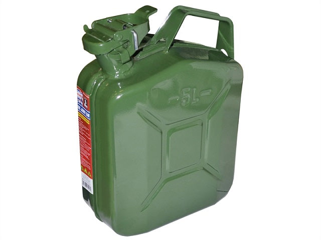Green Jerry Can - Metal (Petrol or Diesel) Assorted Sizes