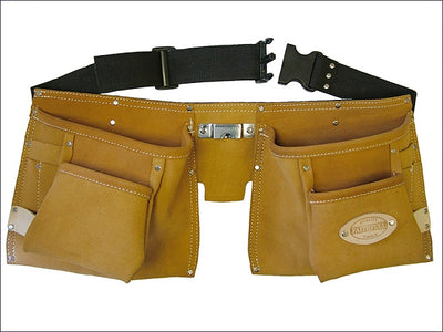 Faithfull Double Tool Belt and Nail Pouch