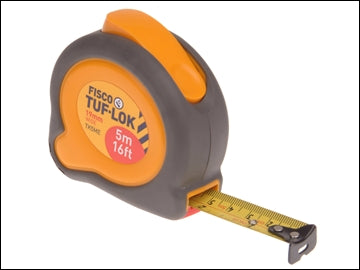 Fisco Tape Measure Tri-lok 5m 16ft