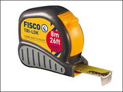 Fisco Tape Measure Tri-lok 8mtr 26ft