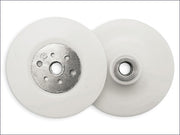 "Angle Grinder Backing Pad White 230mm/9"" M14 (Flexipads)"