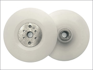 "Angle Grinder Backing Pad White 125mm/5"" M14 (Flexipads)"