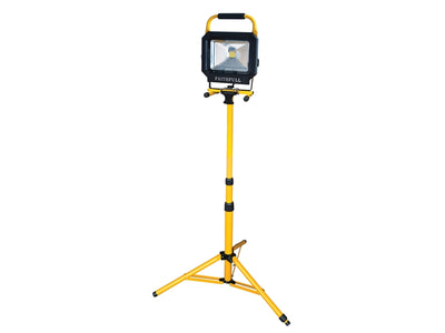 COB LED Single Pod Tripod Sitelight 2100 Lumen 30 Watt
