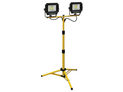 COB LED Twin Pod Tripod Sitelight 4200 Lumen 60 Watt