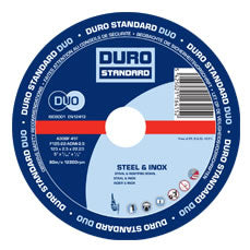 Metal Cutting Disc 100mm/4 inch - 25 Pack (Duro)