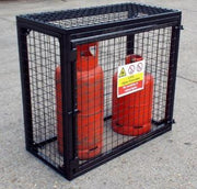 Gas Bottle Storage Cage GC05 H900 x W1000 x D500mm (3x19kg)