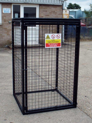 Gas Bottle Storage Cage GC20 H1800 x W900 x D900mm (4 x 47kg)