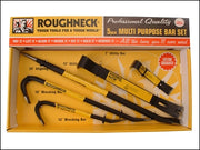 Roughneck Multi Purpose Pry Bar Set 5 Piece