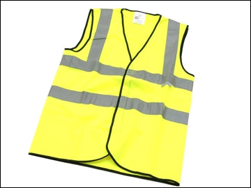 Hi Viz Waistcoats - All Sizes