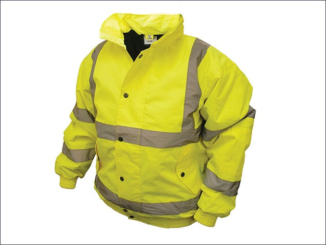 Hi Viz Bomber Jacket - All Sizes