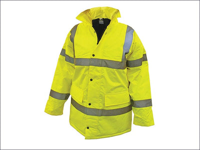 SCAN Hi-Vis Jacket Yellow - M, L, XL