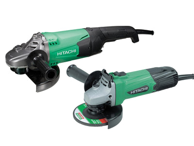 Hitachi G12SS/G23ST  Angle Grinder Twin Pack