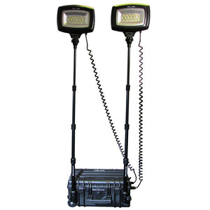 NightSearcher Solaris Duo LED Portable Rechargeable Floodlight