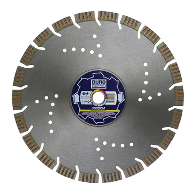 DURO DCM Diamond Cutting Blade 230mm/22mm Bore - Construction Materials