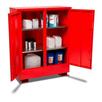 Armorgard FSC3 Flamstor Chemical & Flammable Liquid Storage Cabinet 1205 x 580 x 1555 mm
