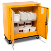 Armorgard HMC2 Mobile Safestor Chemical & Flammable Liquid Storage W900 x D465 x H1010mm