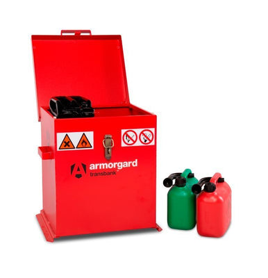 Armorgard TRB2 Transbank Chemical & Flammable Liquid Storage Van Cabinet 530 x 485 x 540 mm
