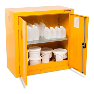 Armorgard HFC3 Safestor Chemical & Flammable Liquid Storage Cabinet W900 x H900 x D465mm