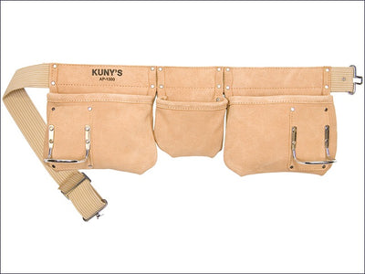 Kunys Carpenters Leather Tool Belt