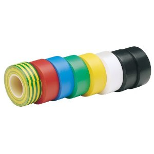 Insulation Tape Electrical PVC - 6 pack