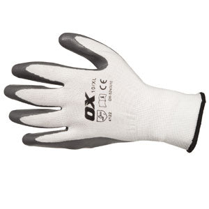 Nitrile Coated Gloves (OX)