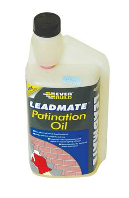 Lead Patination Oil - 1000ml (Everbuild)