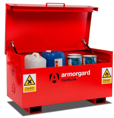 Armorgard FB2 Flambank Chemical Storage Site Box 1275 x 675 x 665 mm