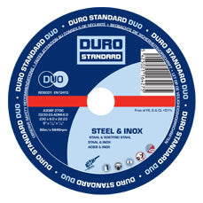 Metal Cutting Disc 115mm/4 1/2 inch - 25 Pack (DURO)