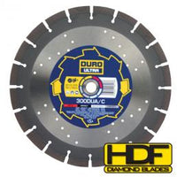 DURO Ultra DUA/C 350mm - Concrete / Asphalt / Metal / Hard Materials Blade