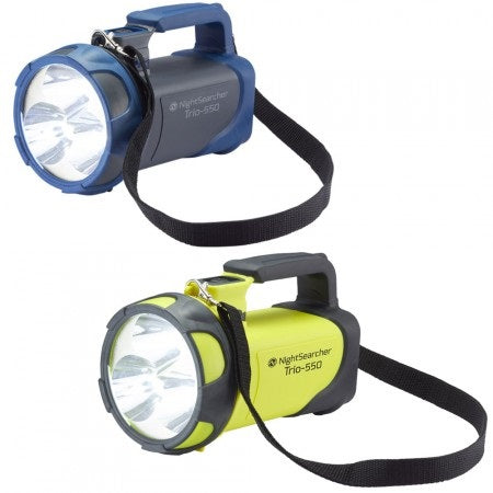 Nightsearcher TRIO 550 Rechargeable LED Handlamp