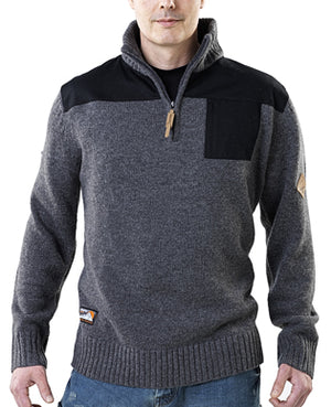 Scruffs Half Zip Knit Classic Range Jumper - All Sizes