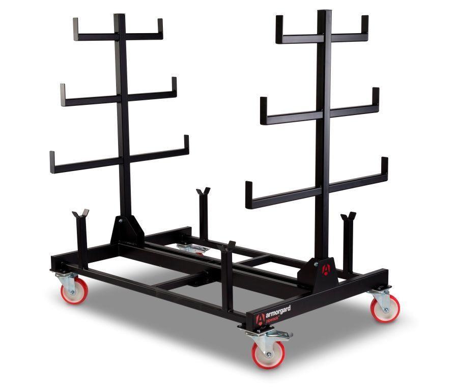 ARMORGARD PR1 MOBILE PIPE RACK 1 TONNE 1000mm x 1500mm x 1560mm