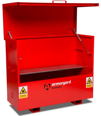 Armorgard FBC5 Flambank Chemical Storage Site Chest 1585 x 675 x 1275 mm