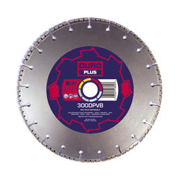 DURO DPVB Vacuum Brazed Diamond Blade 230mm / 9in - View Cutting Details