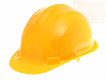 Construction Hard Hat - Yellow (SCAN)