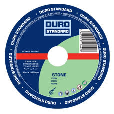 Stone Grinding Disc 115mm/4-1/2 inch - 10 Pack (DURO)